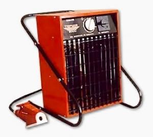Аренда электрического тепловентилятора мощностью 9 кВт