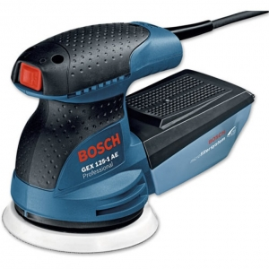 Аренда эксцентриковой шлифмашины Bosch GEX 125-1 AE