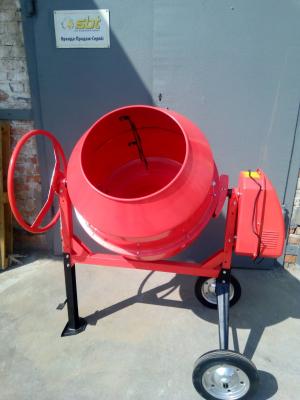 Аренда бетономешалки объемом готовой смеси 200 л