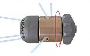 Аренда роторной форсунки для чистки труб - 500 бар