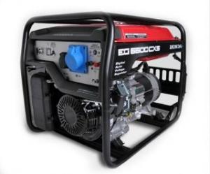 Аренда бензинового генератора мощностью до 5,5 кВт