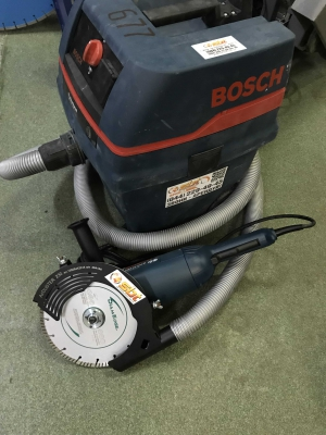 Аренда УШМ/болгарки с защитным кожухом Mechanic Air Duster под диск 230мм