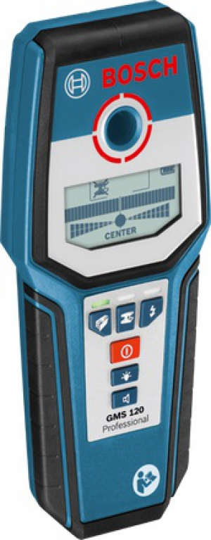 Аренда детектора проводки/металлоискателя  Bosch GMS 120